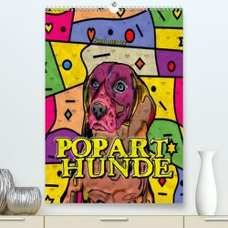Popart Hunde von Nico Bielow (Premium, hochwertiger DIN A2 Wandkalender 2020, Kunstdruck in Hochglanz) von Bielow,  Nico