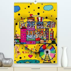 Popart USA von Nico Bielow (Premium, hochwertiger DIN A2 Wandkalender 2021, Kunstdruck in Hochglanz) von Bielow,  Nico