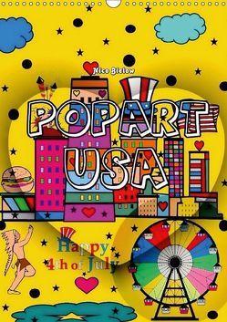Popart USA von Nico Bielow (Wandkalender 2018 DIN A3 hoch) von Bielow,  Nico