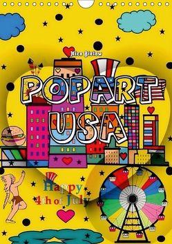 Popart USA von Nico Bielow (Wandkalender 2018 DIN A4 hoch) von Bielow,  Nico