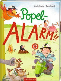 Popelalarm!! von Hebrock,  Andrea, Langen,  Annette