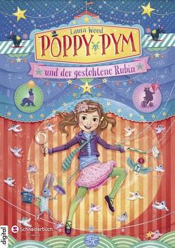 Poppy Pym und der gestohlene Rubin von Flegler,  Leena, Schoeffmann-Davidov,  Eva, Wood,  Laura