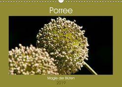 Porree – Magie der Blüten (Wandkalender 2019 DIN A3 quer) von Bölts,  Meike