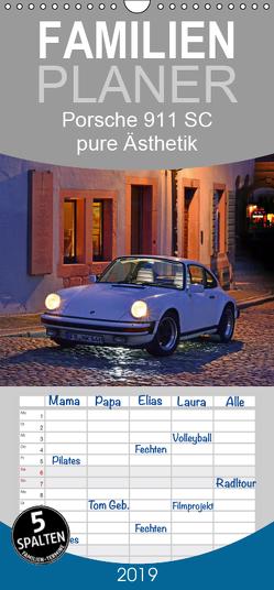 Porsche 911 SC pure Ästhetik – Familienplaner hoch (Wandkalender 2019 , 21 cm x 45 cm, hoch) von Laue,  Ingo
