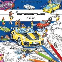 Porsche Malbuch für Kinder von Lohr,  Stefan