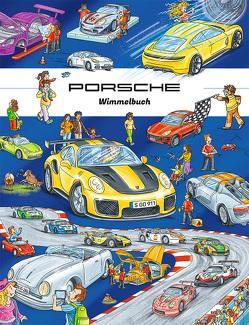Porsche Wimmelbuch von Lohr,  Stefan
