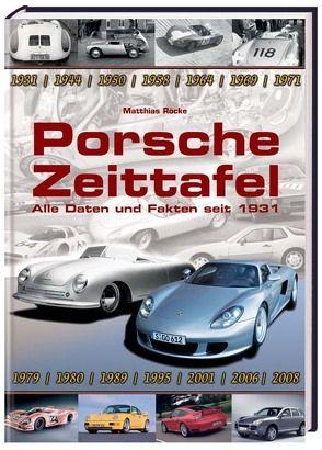 Porsche Zeittafel von Mathias Röcke,  Mathias, Röcke,  Mathias