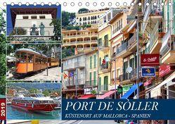 Port de Sóller – Küstenort auf Mallorca (Tischkalender 2019 DIN A5 quer) von Felix,  Holger