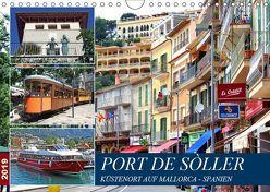 Port de Sóller – Küstenort auf Mallorca (Wandkalender 2019 DIN A4 quer) von Felix,  Holger