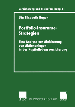 Portfolio-Insurance-Strategien von Hagen,  Uta
