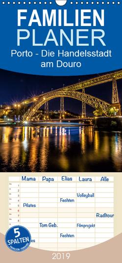 Porto – Die Handelsstadt am Douro – Familienplaner hoch (Wandkalender 2019 , 21 cm x 45 cm, hoch) von Schikore,  Martina