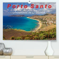 Porto Santo Trauminsel im Atlantik (Premium, hochwertiger DIN A2 Wandkalender 2021, Kunstdruck in Hochglanz) von Lielischkies,  Klaus