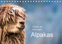 Portraits der kuscheligen Alpakas (Tischkalender 2019 DIN A5 quer) von Mentil,  Bianca