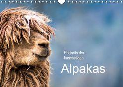 Portraits der kuscheligen Alpakas (Wandkalender 2019 DIN A4 quer) von Mentil,  Bianca