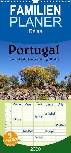 Portugal Buntes Hinterland und farbige Küsten – Familienplaner hoch (Wandkalender 2020 , 21 cm x 45 cm, hoch) von Salzmann,  Ursula