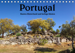 Portugal Buntes Hinterland und farbige Küsten (Tischkalender 2019 DIN A5 quer) von Salzmann,  Ursula