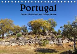 Portugal Buntes Hinterland und farbige Küsten (Tischkalender 2020 DIN A5 quer) von Salzmann,  Ursula