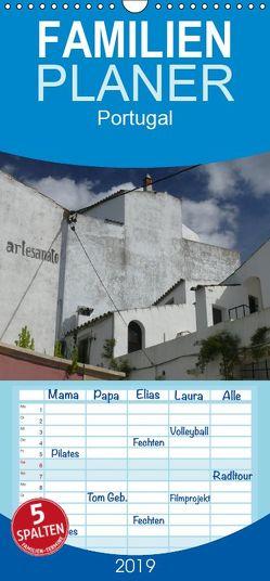 Portugal – Familienplaner hoch (Wandkalender 2019 , 21 cm x 45 cm, hoch) von M. Laube,  Lucy