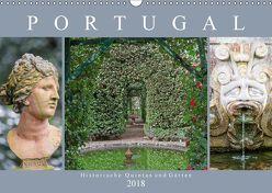 Portugal – Historische Quintas und Gärten (Wandkalender 2018 DIN A3 quer) von Meyer,  Dieter