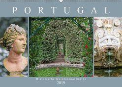 Portugal – Historische Quintas und Gärten (Wandkalender 2019 DIN A2 quer) von Meyer,  Dieter