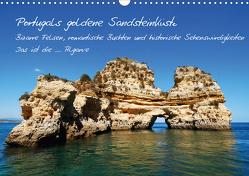 Portugals goldene Sandsteinküste (Wandkalender 2021 DIN A3 quer) von Krone,  Elke
