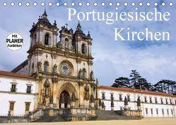 Portugiesische Kirchen (Tischkalender 2018 DIN A5 quer) von LianeM,  k.A.
