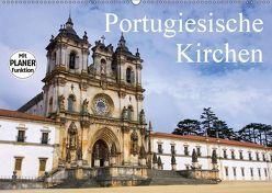 Portugiesische Kirchen (Wandkalender 2019 DIN A2 quer) von LianeM