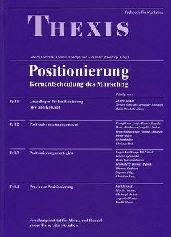 Positionierung von Belz,  Christian, Roosdorp,  Alexander, Rudolph,  Thomas, Tomczak,  Thorsten, Tomczak,  Torsten