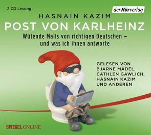 Post von Karlheinz von Gawlich,  Cathlen, Kazim,  Hasnain, Mädel,  Bjarne, Schütz,  Bernhard