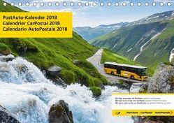 PostAuto 2018 (Tischkalender 2018 DIN A5 quer) von AG,  Calendaria
