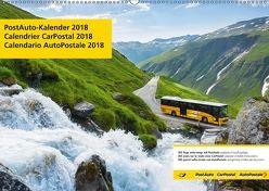 PostAuto 2018 (Wandkalender 2018 DIN A2 quer) von AG,  Calendaria