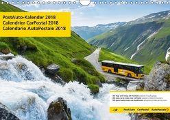 PostAuto 2018 (Wandkalender 2018 DIN A4 quer) von AG,  Calendaria