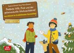 Postbote Willi, Pirat und der geheimnisvolle Weihnachtsbrief von Brandt,  Susanne, Braune,  Anne Marie