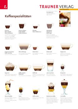 Poster: Kaffeespezialitäten von Verlag,  Trauner