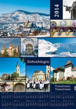 Poster-Kalender Siebenbürgen von Eichler,  Martin
