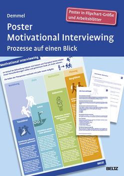 Poster Motivational Interviewing von Demmel,  Ralf