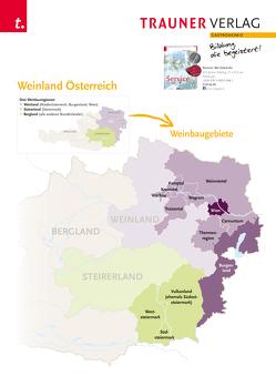 Poster: Weinland Österreich von Verlag,  Trauner