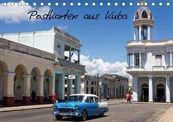 Postkarten aus Kuba (Tischkalender 2019 DIN A5 quer) von Dobrindt,  Jeanette