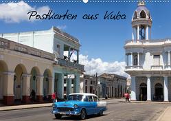 Postkarten aus Kuba (Wandkalender 2020 DIN A2 quer) von Dobrindt,  Jeanette