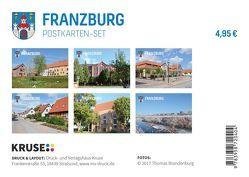 Postkarten-Set Franzburg von Brandenburg,  Thomas