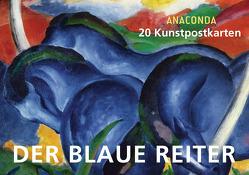 Postkartenbuch Der blaue Reiter