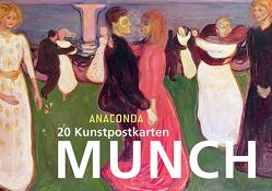 Postkartenbuch Edvard Munch von Munch,  Edvard