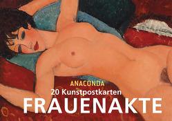 Postkartenbuch Frauenakte von Anaconda