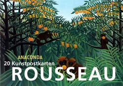 Postkartenbuch Henri Rousseau von Rousseau,  Henri