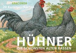 Postkartenbuch Hühner von Anaconda