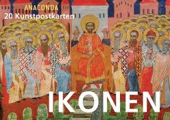 Postkartenbuch Ikonen von Anaconda