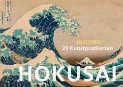 Postkartenbuch Katsushika Hokusai von Hokusai,  Katsushika