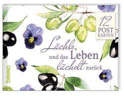 Postkartenbuch »Lächle, und das Leben lächelt zurück«
