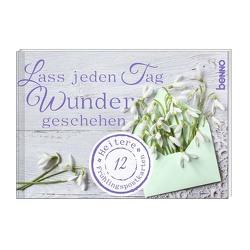 Postkartenbuch Lass jeden Tag Wunder geschehen