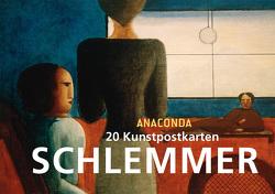 Postkartenbuch Oskar Schlemmer von Schlemmer,  Oskar